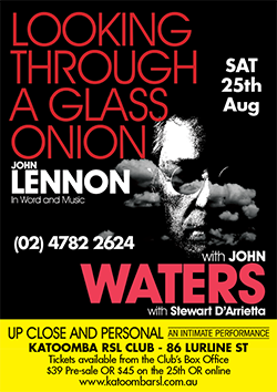 JohnWatersLookingThroughAGlassOnion250